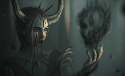 The witchcraft by AlvaroSanJuan