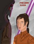 Star Wars KotOR - Bastila and Revan