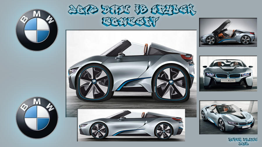 2013 BMW i8 Spyder Concept by PeterRama on DeviantArt