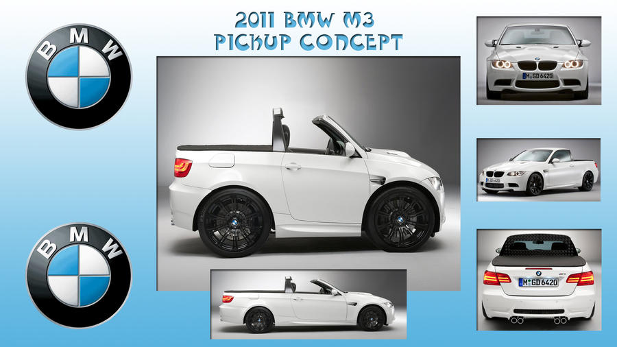 2011 BMW M3 Pickup Concept by PeterRama on DeviantArt