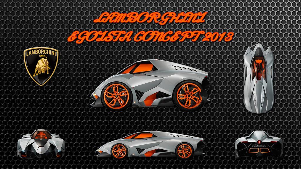 Lamborghini Egoista Concept 2013 By Peterrama On Deviantart