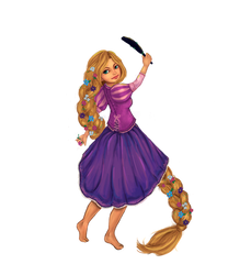 Rapunzel Disney Girls Collab by majdarts