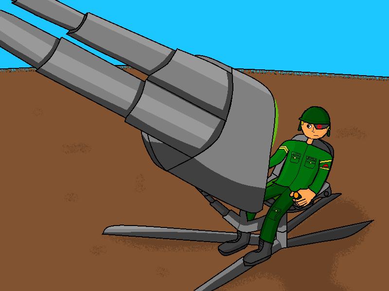 AA-15 'Phoenix' Cannon by pokefan00