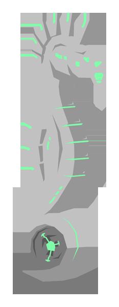 Cyberpunk Seahorse