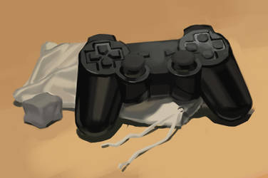 Still Life with a Controller by flayd
