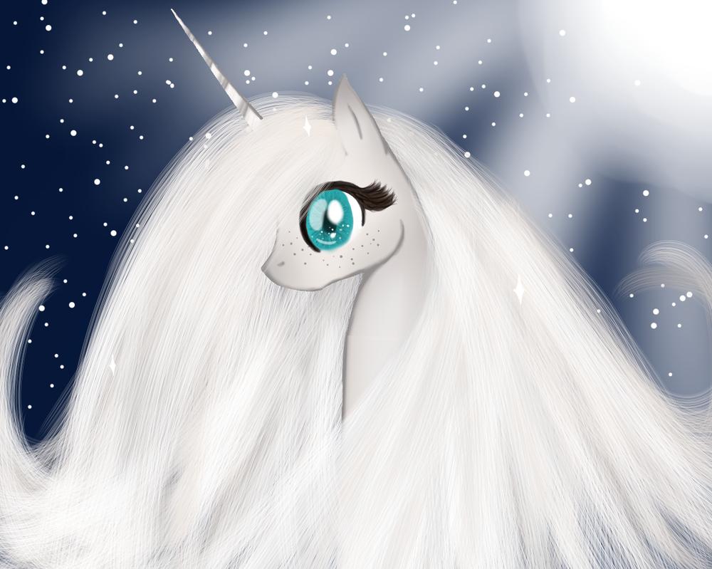 .:OLD ART:. Unicorn by Nektarynka2001