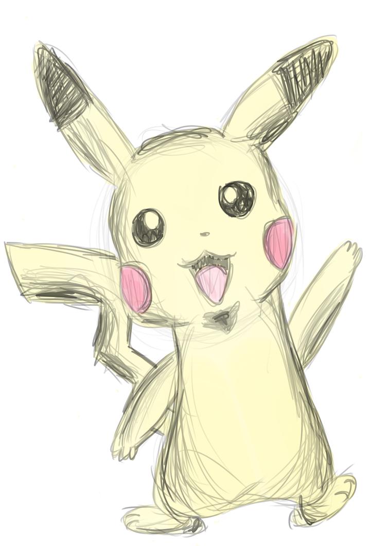 Pikachu! by Nektarynka2001