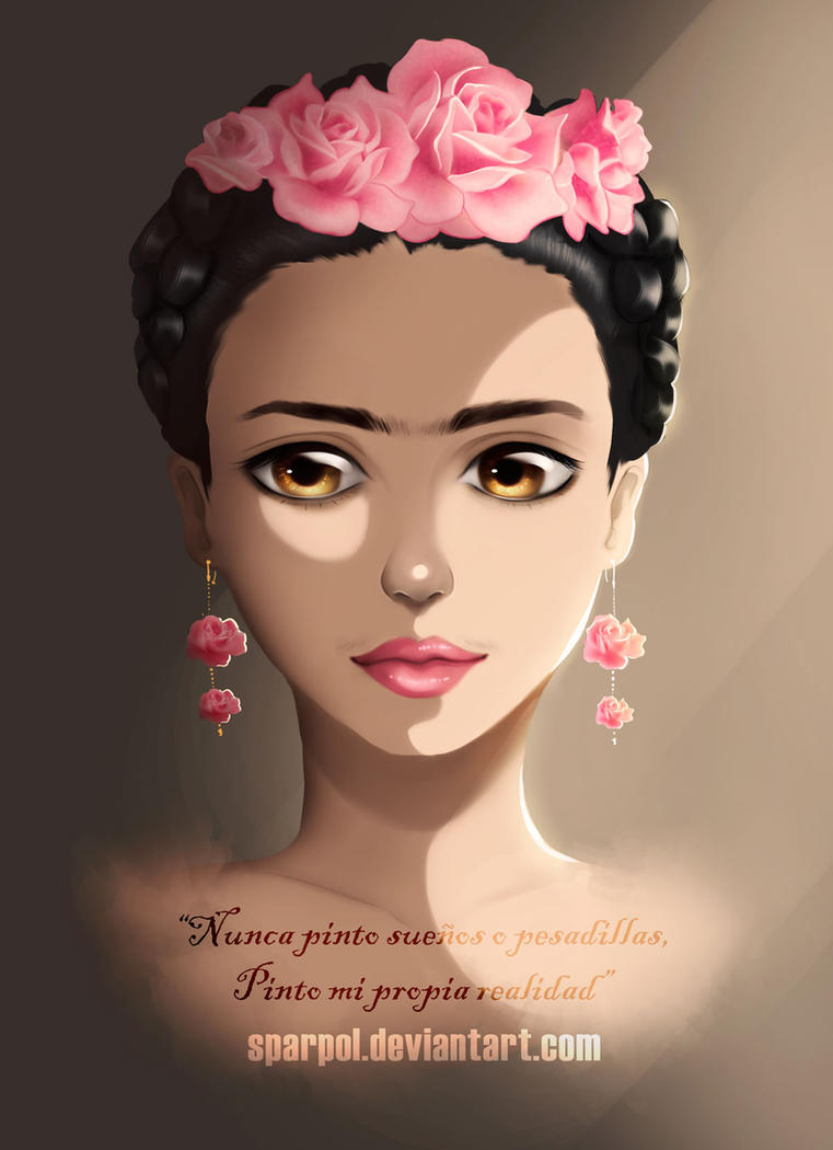 Kahlo by Sparpol