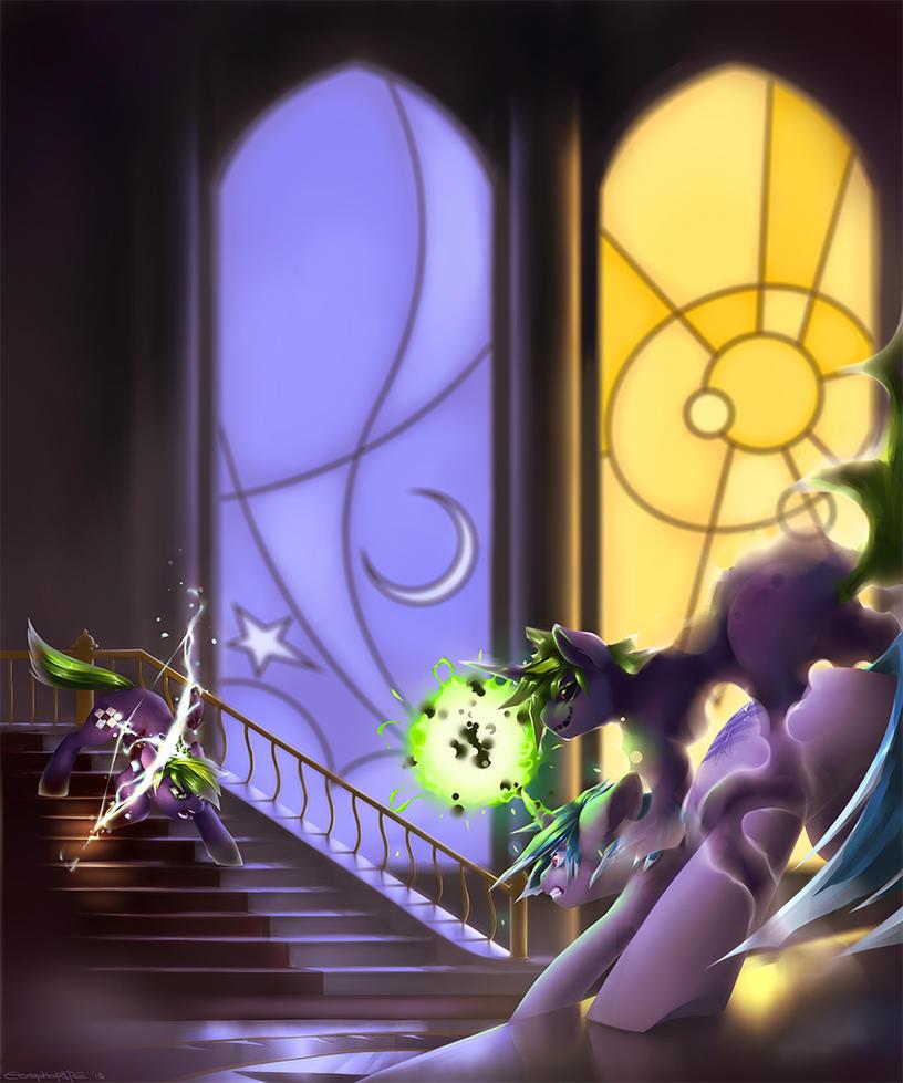 commission__castle_duel_by_eosphorite-d6