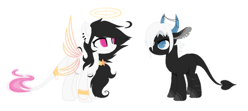 - Angel and Demon mares - [CLOSED]