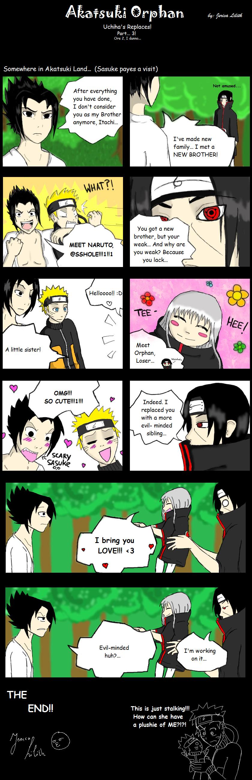 Akatsuki Orphan - Comic 2 by JericaLilith