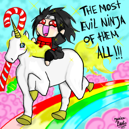 It's random time! - Página 2 Madara_and_the_unicorn_by_jericalilith-d3409dz