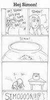 Funny Comic - Hej Simon!