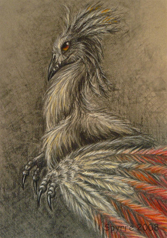 Old phoenix by Spyrre