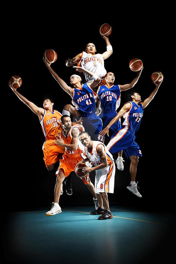 Pelita Jaya basketball team A by jaysu