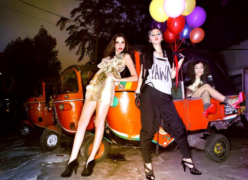 Girls Night in 5 by jaysu