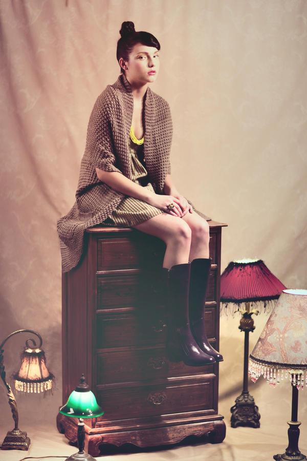 Brown Cloth Diary 5 by jaysu