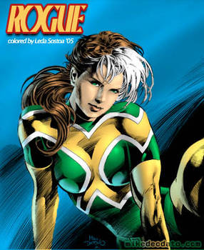 Mike Deodato Jr's Rogue