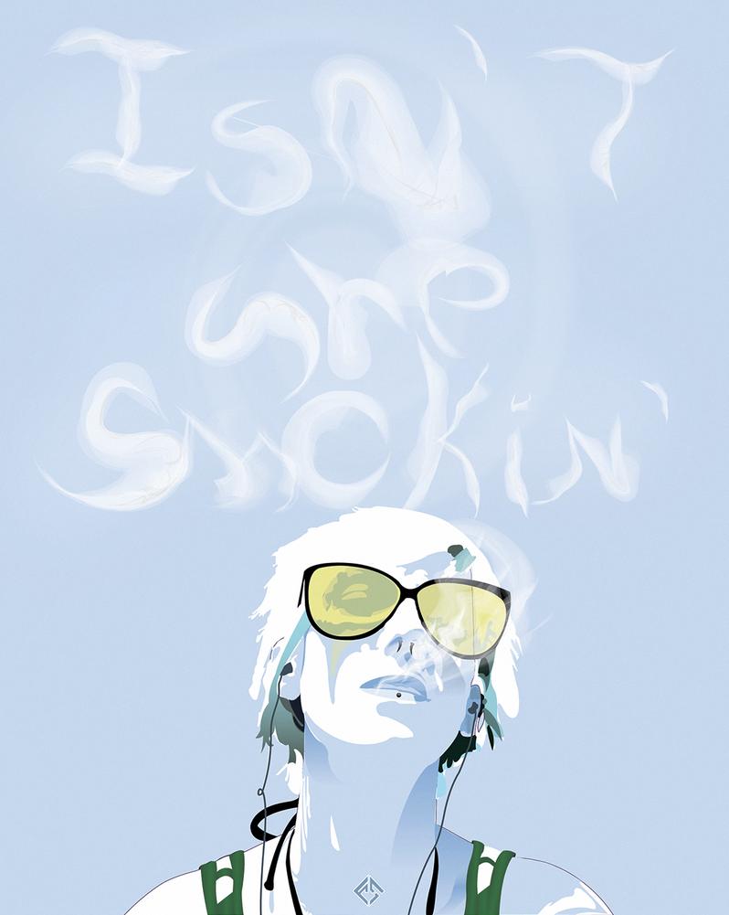 Isn't She Smokin' by FallnShadw