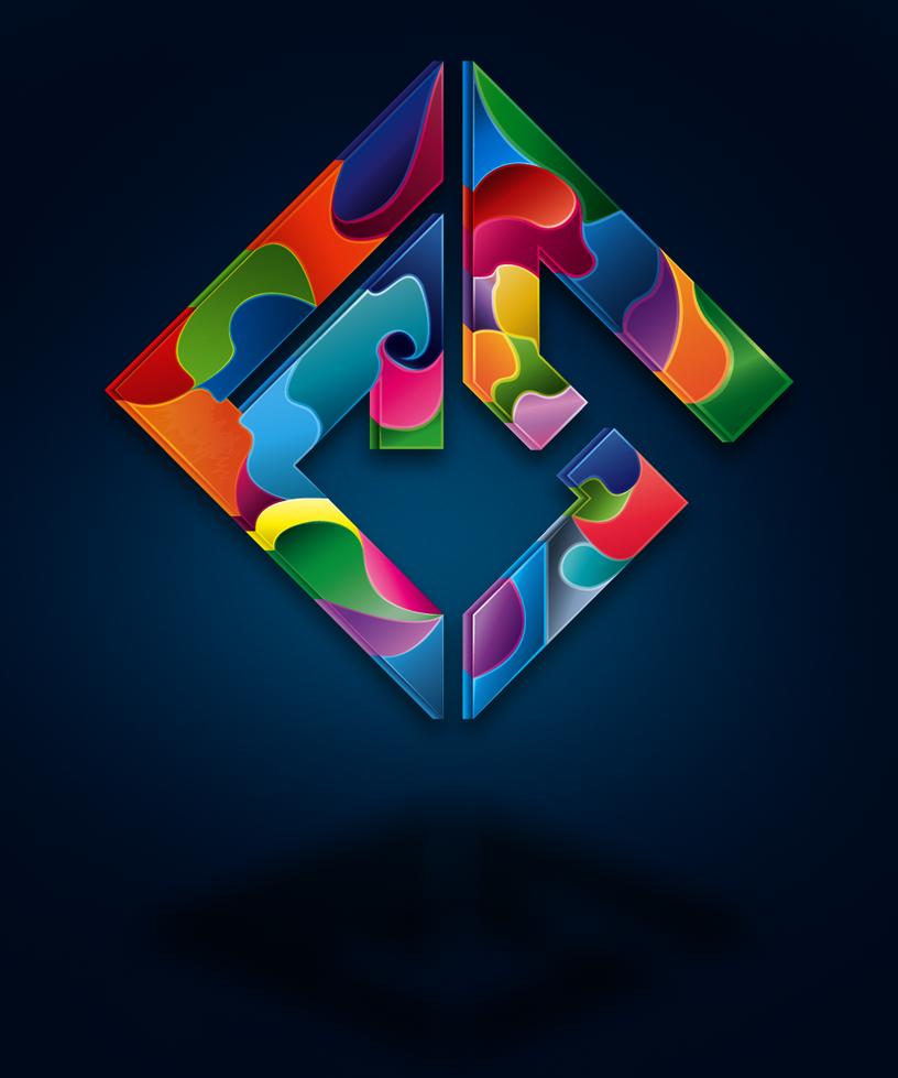 Coloured Logo by FallnShadw