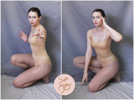 FEMALE Pose   Sitting 3