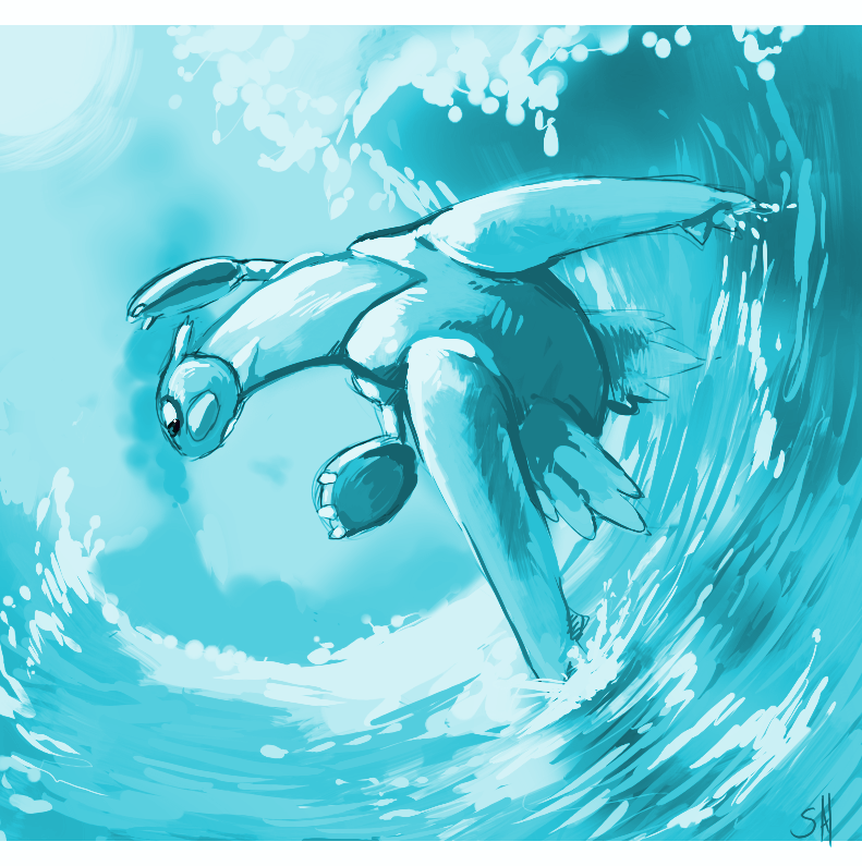 Surf attack by salanchu
