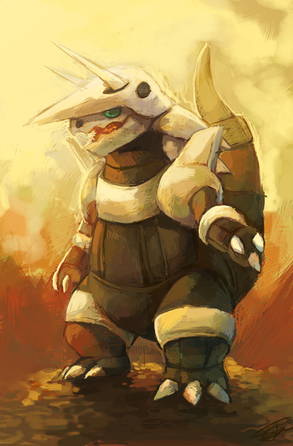 Aggron by salanchu