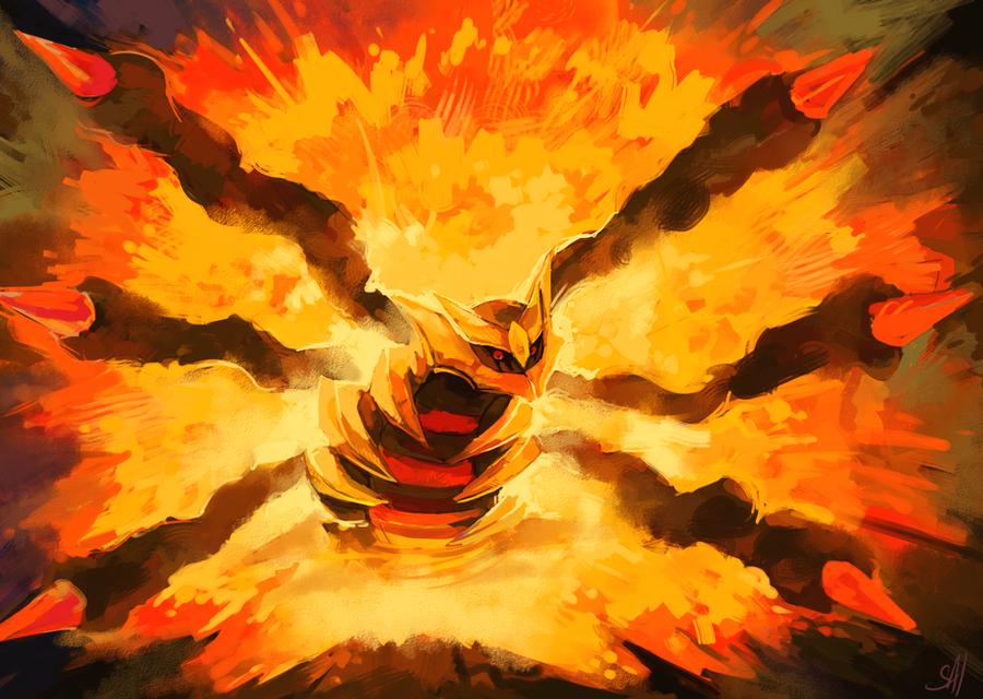 Explosion by salanchu