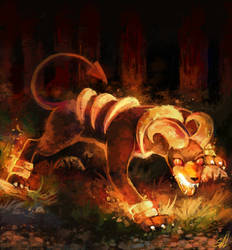Hound Doom by salanchu