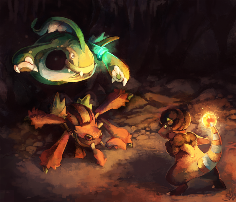 Commission:A trap by salanchu