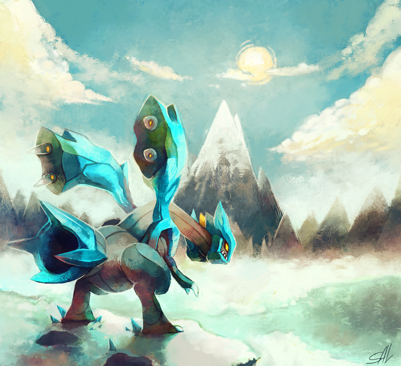 Icepeak by salanchu