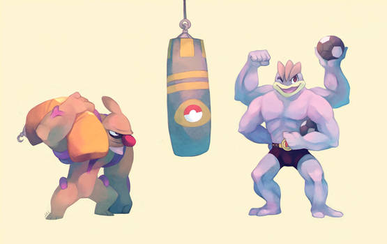 Commission: Super Training