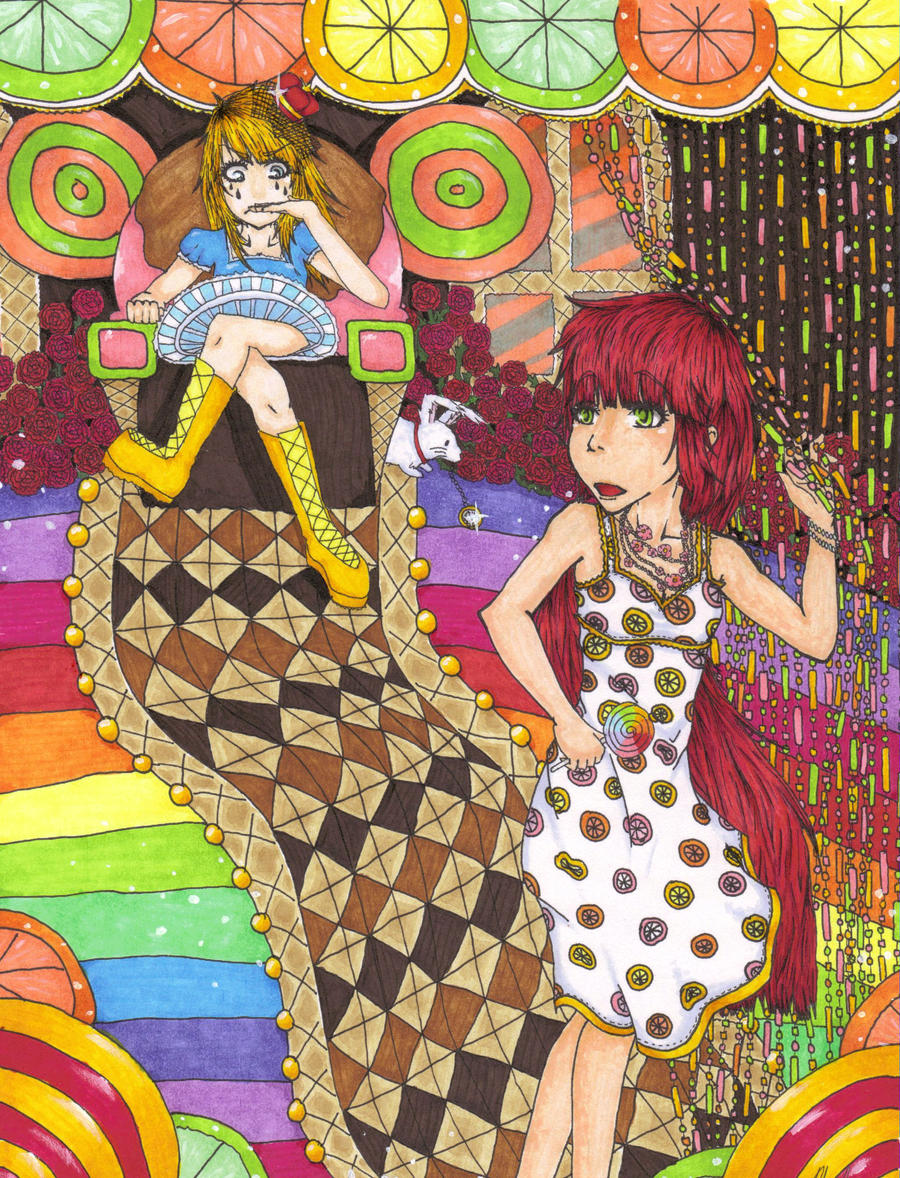 Alice in Candyland by pop90361 on deviantART