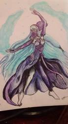 Mysterious Dancer by Pann-Ash-Designs