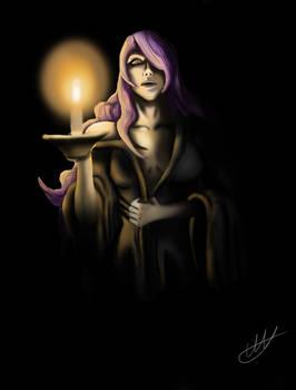 Camilla in the dark