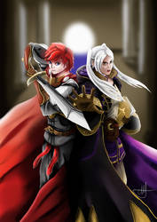 Aarono and Robin by Pann-Ash-Designs