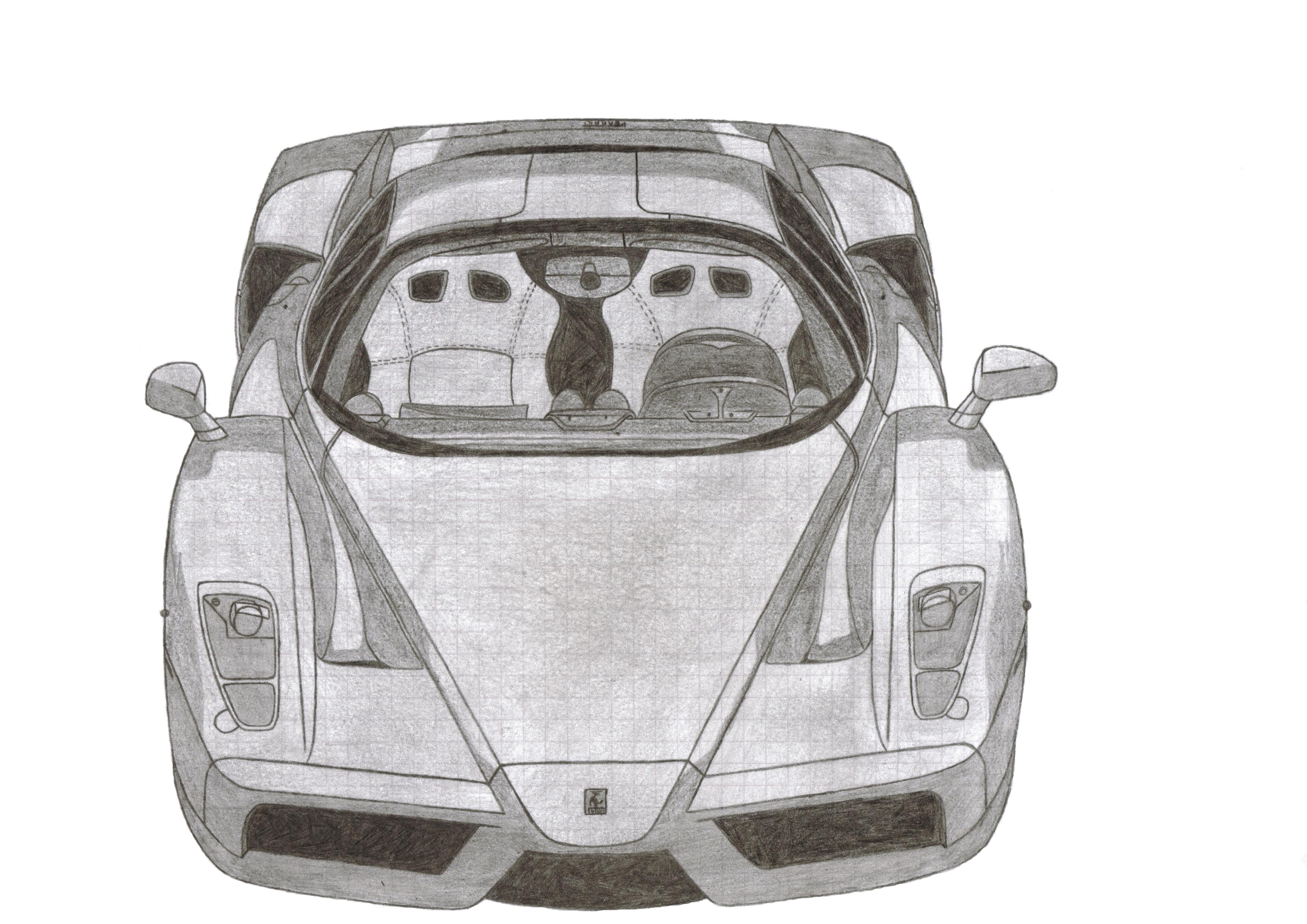Enzo Ferrari by ManuXIII
