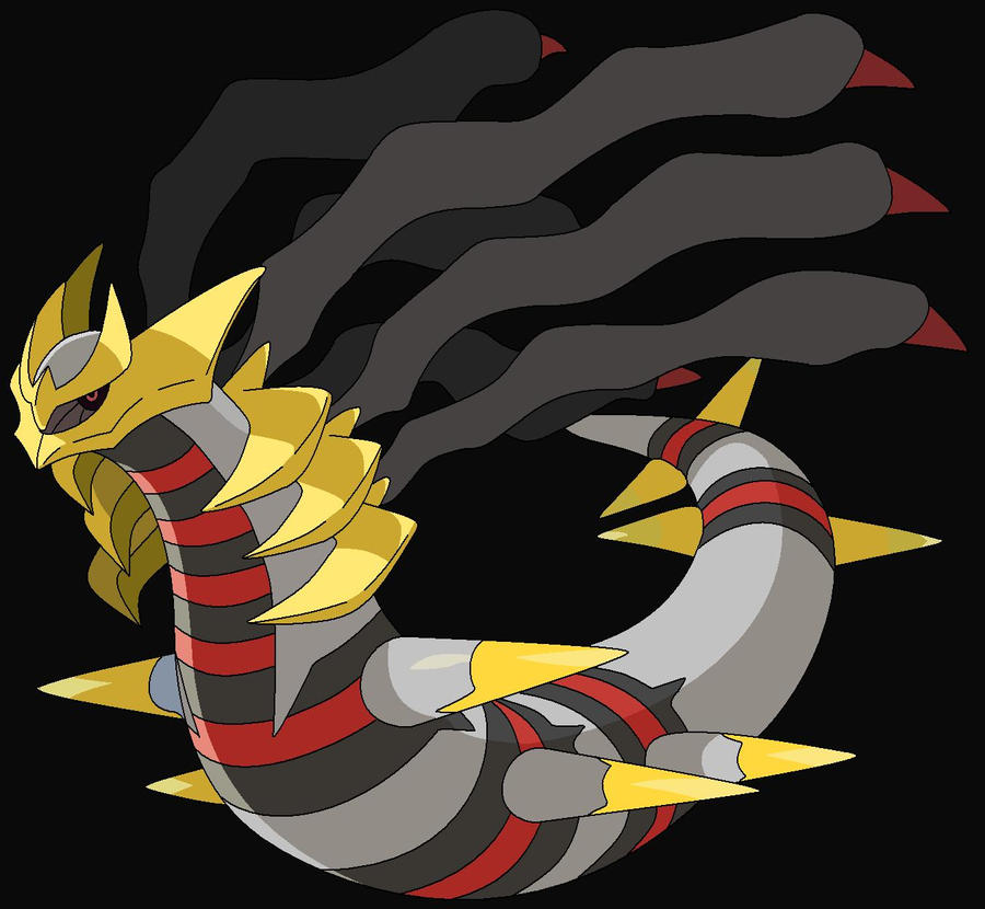 Giratina Origin Form by Ai-Ashikaga on DeviantArt