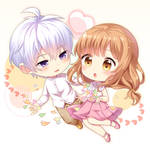 Commission : Sogo and Hikaru