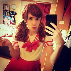 Schoolgirl selfie by BiancaXBoom