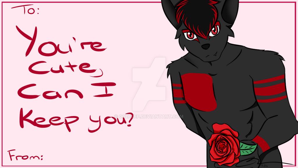 Drakel's Valentines Day Card by 00Zeref