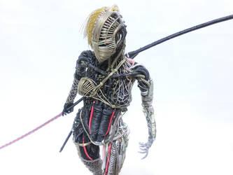 Ninja Robot Woman by CreativityChains