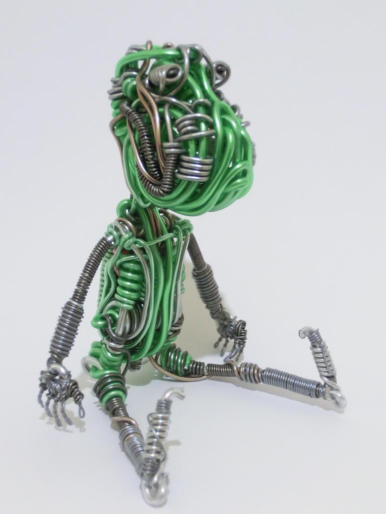 Wire Sculpture - spirit by CreativityChains