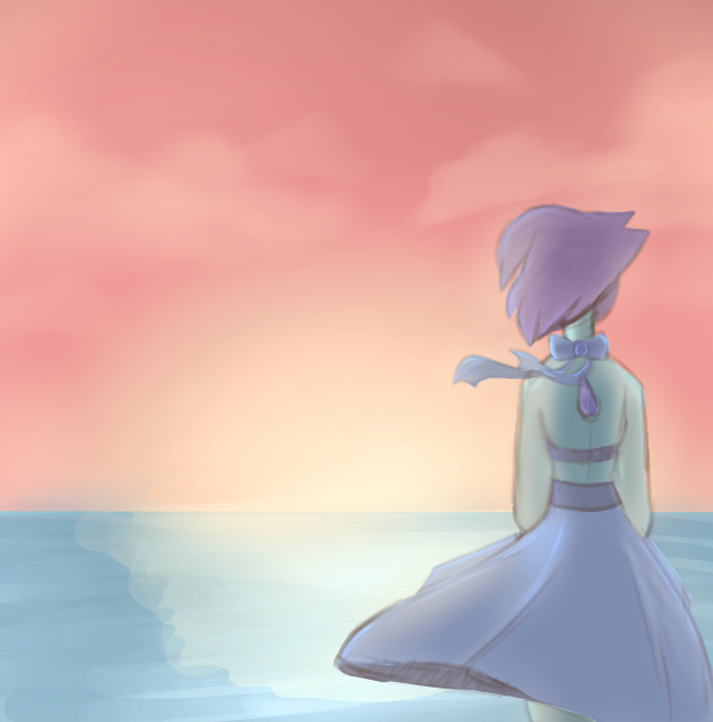 Honestly, im pretty proud of this. I didn't plan to really draw any of this, but my friend and i where doing a challenge thing so-- Love ya This is Lapis Lazuli from Steven Universe Anyway, I dunno...
