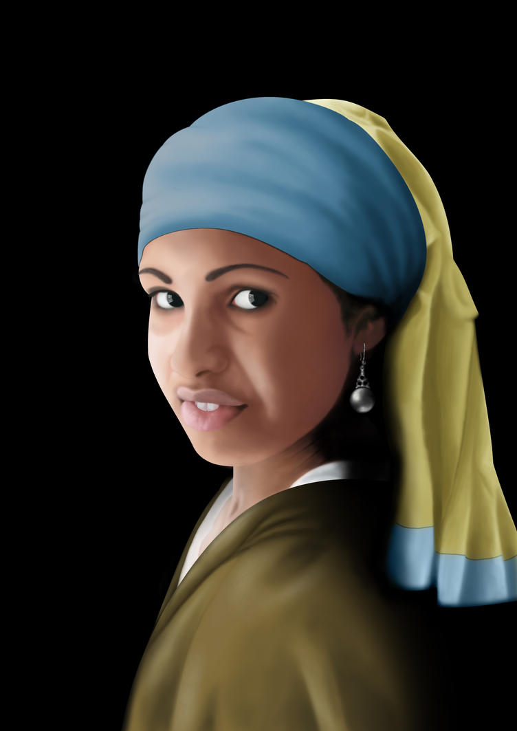 Girl with a Pearl Earring v2.0 by Scotocoremia
