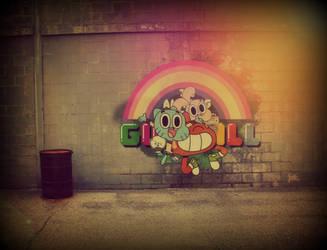 Gumball's Wall by xXxEli
