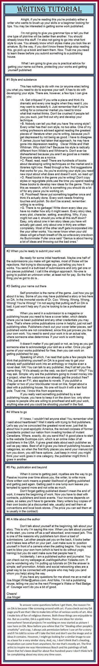 Writing Tutorial by jomog369