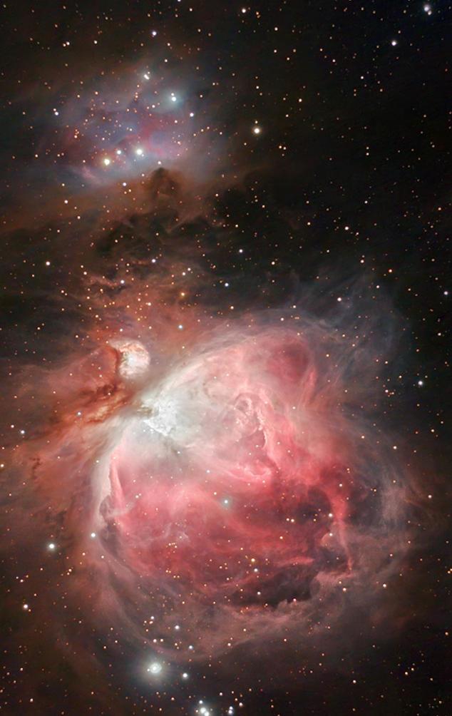 new orion nebula