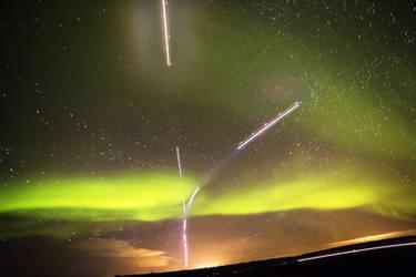 Aurora and planes