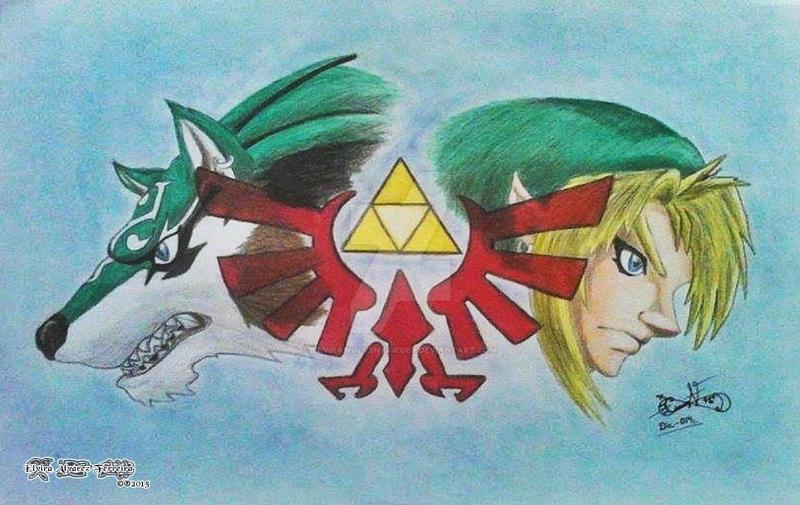 The Legend Of Zelda Twilight Princess Fan Art By